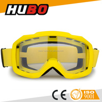 CE EN174 new model anti scratch clear lens motocross motorcycle eyewear