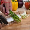 As seen on TV 2-in-1 Food Chopper Food Slicer Vegetable Cutter Kitchen Knives and Cutting Boards