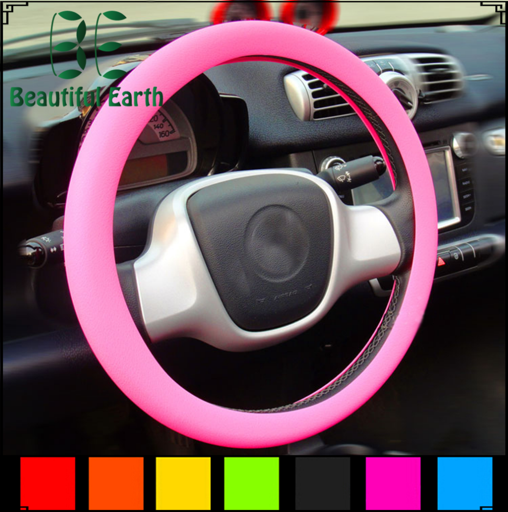 Factory price wholesale made in China the best silicone promotion gift steering wheel cover