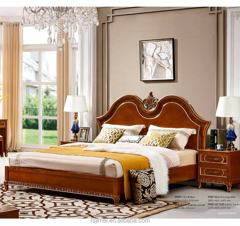 Solid Wood Furniture Elegant King Size Couple Bedroom Set Buy Couple Bedroom Set Classic Bedroom Sets Elegant King Size Bedroom Sets Product On