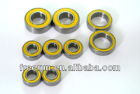 High Performance TEAM LOSI RC CAR LST2 MONSTER TRUCK steel bearing kits with different rubber seal color