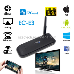 New Hot iPush WiFi Display Dongle for Smart Phone android tablet DLAN micracast tv dongle