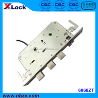 Fingerprint Lock Electronic Lock Body 6068ZT, 60mm backset, Automatic Lock