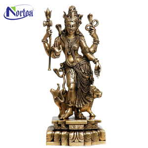 Abstract bronze Indian Buddha Krishna statue NTBS-361Y