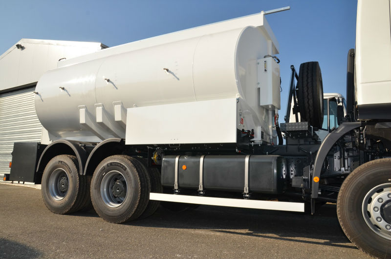 TANK TRUCK for transportation of diesel and petrol. Germany