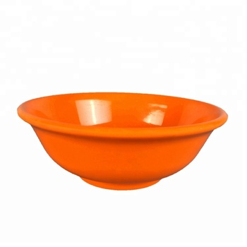 Dishwasher Safe Eco-friendly Group Color Melamine Salad Bowl