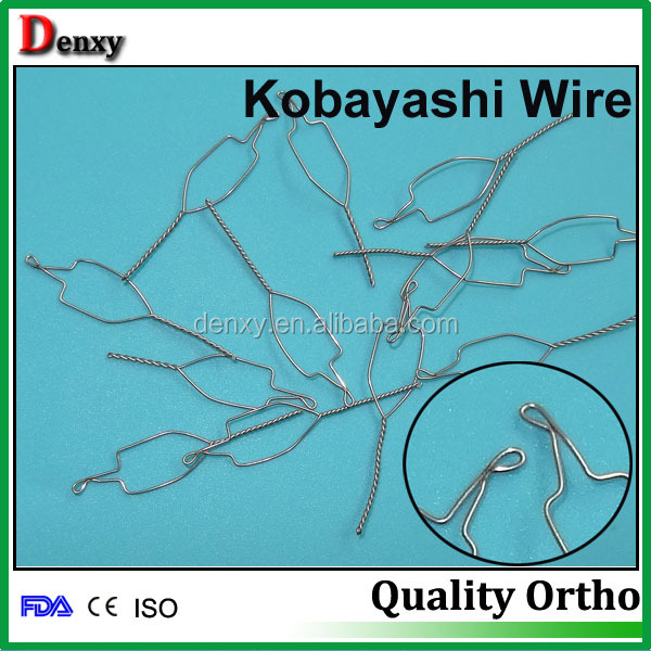 Orthodontic Ss Wires Kobayashi Ligature Wire - Buy Orthodontic ...