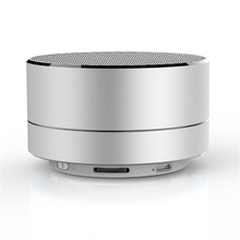 Evergreentech Mini Speaker Ultra Portable Desk Office Wireless bt Speakers With Built-in Microphone and TF Card Port