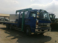 Isuzu Elf 10 wheelers self loader boom