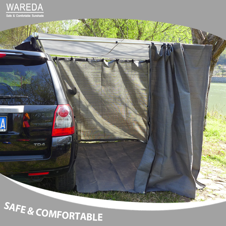 Vehicle side awning outdoor 4x4 off road waterproof side awning Offroad side awning