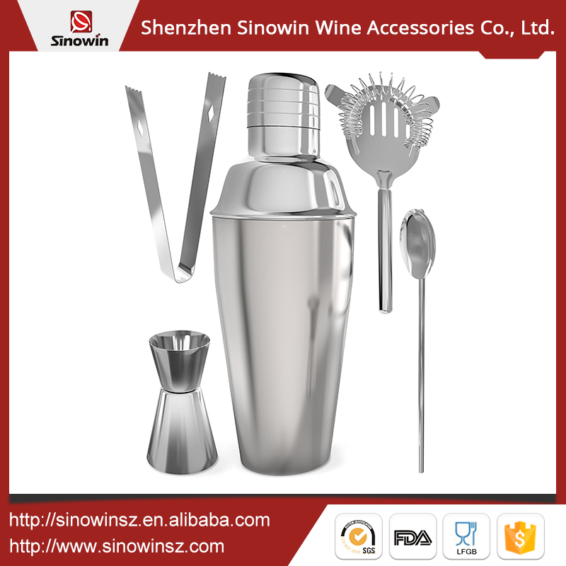 Quality Properties Perfectly Elegant Stainless Steel Boston Cup Shaker Set