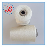 Ne 40/120% French Linen 80% Tencel Blended Yarn Natural Color with Lower Price Flax yarn for linen fabric China Suppliers