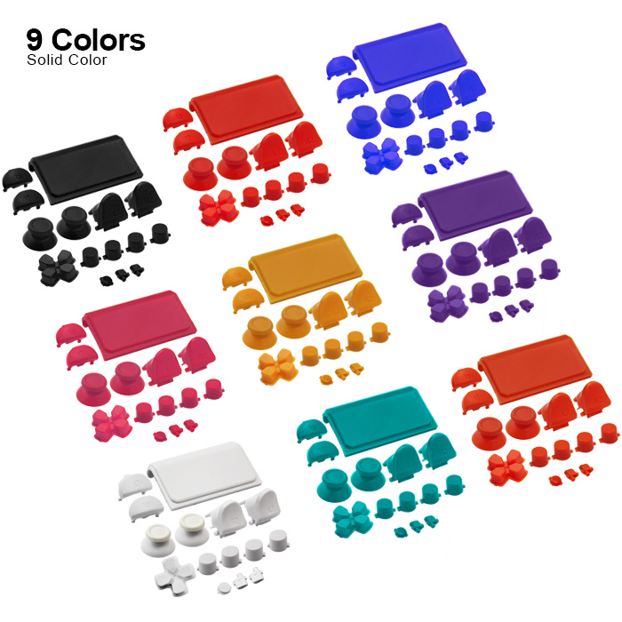 Game Accessories For Button Kits for PS4 Slim Controller Button Sets Mod Kits