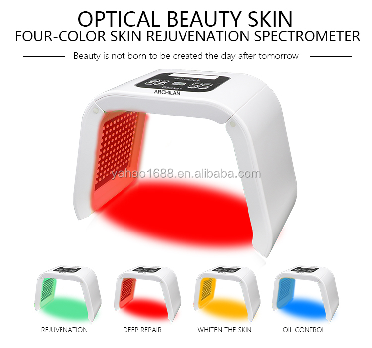 LED Red Light At Home Green Mask Photodynamic Therapy Equipment