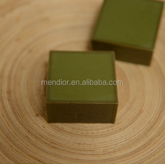 Mendior OEM Matcha oil control handmade soap Natural germicidal anti acne soap with custom LOGO