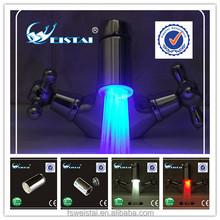 Water Glow LED Light Water Faucet Tap Automatic Colors Temperature Change