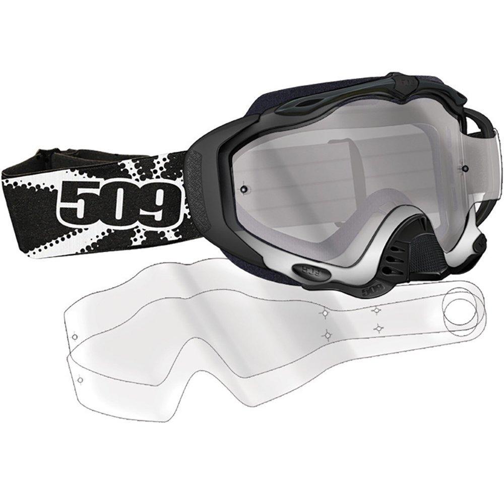 d0afcc4cbba3 Get Quotations · 6pk 509 Sinister MX-5 Dirt Goggle Clear Tear Off Lenses