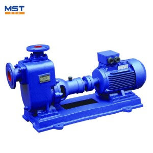 20 bar centrifugal seawater self priming suction pump