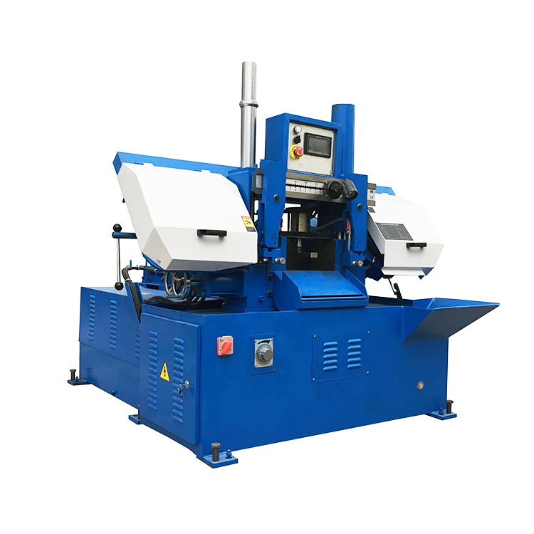 Top quality GS260 double column band saw metal cutting machine
