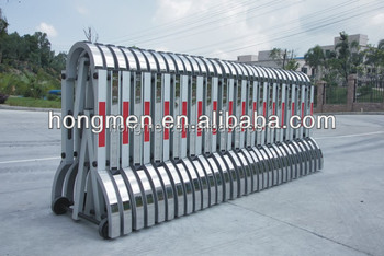Expandable Aluminium Manual Road Security Gates For Crowd Control - Buy  Traffic Barrier Gate,Road Block Gate,Security Gate Product on Alibaba com