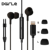 MFI Certified Digital 8 Pin Earphones Wired HiFi Stereo In-Ear Headphones with Mic and Volume Control for iPhone