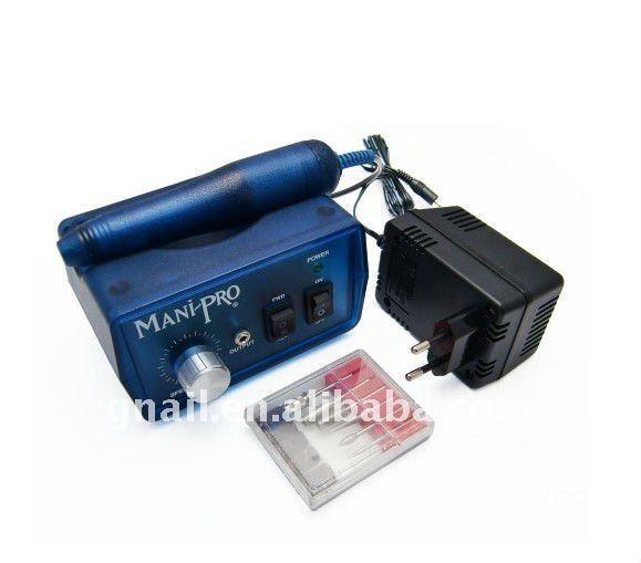 New Mani Pro Electric Nail File Drill System Blueberry W Manicure Pedicure Filing Machine