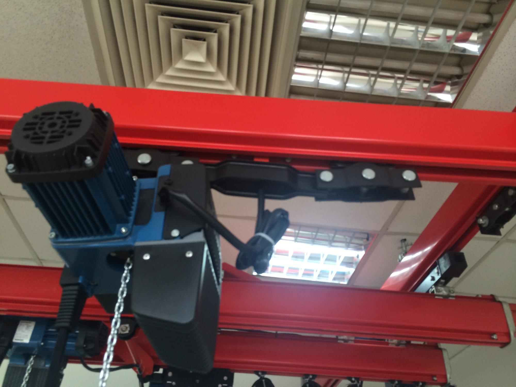 Double Girder Light Duty Aluminum KBK Crane Stainless Steel Monorail Hoist KBK Overhead Crane