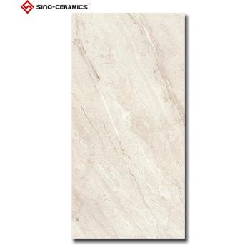 Gray Color Travertine Look Porcelanato Floor Tile 12x24porcelain