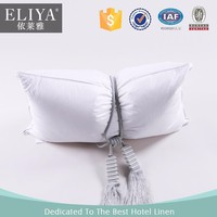 BV certified 100 cotton white hotel life goose down pillow
