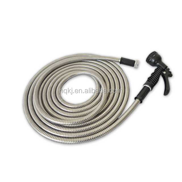 fashion Stainless Steel Garden Hose antique metal hose holder