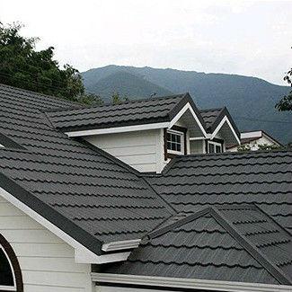 Wanael piedra acero recubierto de tejas vers til para for Materiales para techos de casas