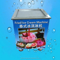 Healthy Design Squared Ice Pan Machine Frying ice pan machine For Sale(ZQR500)
