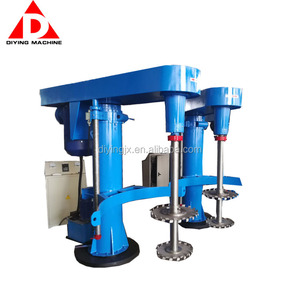 Factory Price 4kw-75kw Hydraulic Lifting High Speed Disperser/Mixer/Mixing For Paint,Dyestuff,Pigment,Glue,Ink