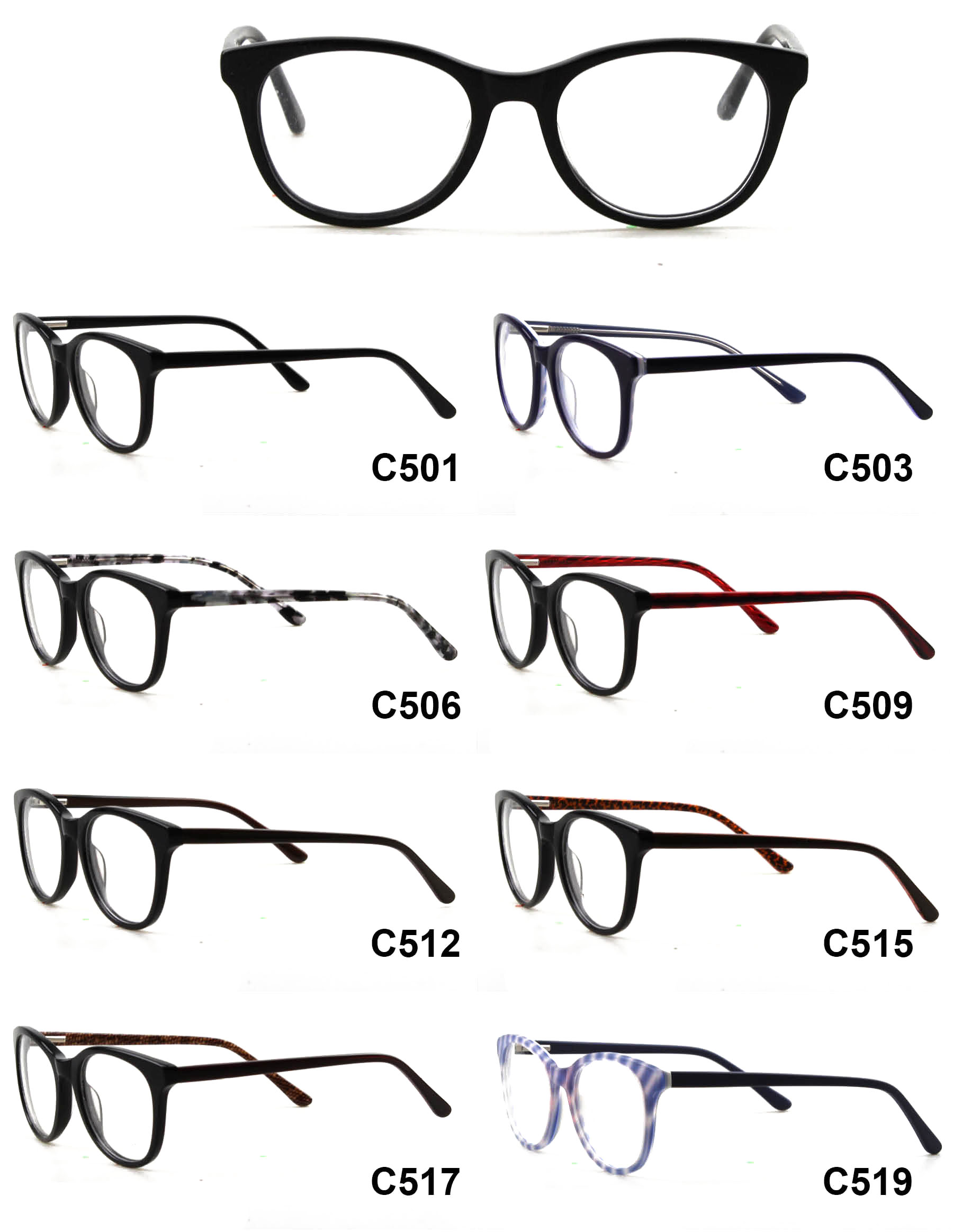 2018 latest fashion china wholesale reading optical glasses frame ...