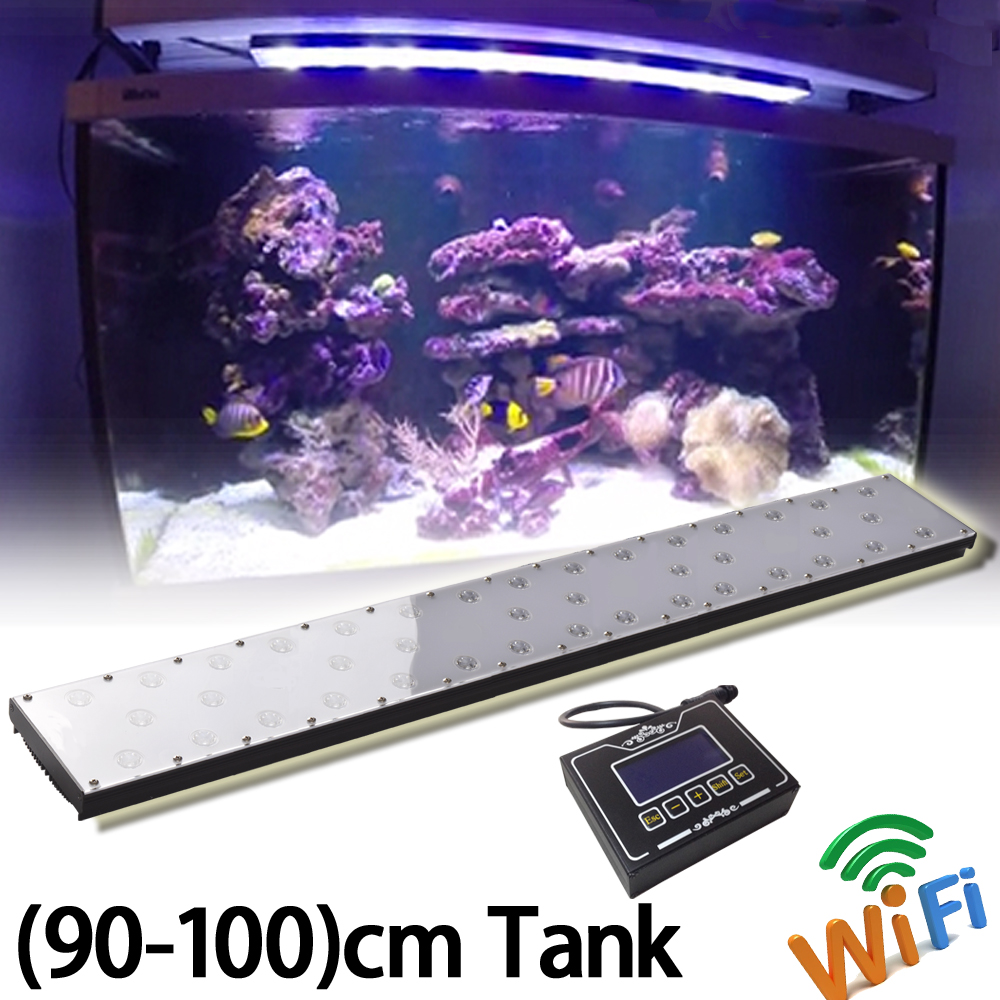 wifi Programmable Led Aquarium for rock <strong>fish</strong> no fan no noise wifi remote control