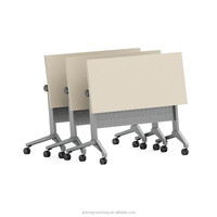 modular office folding training table foldable conference desk 712-A12 A14 meeting table design
