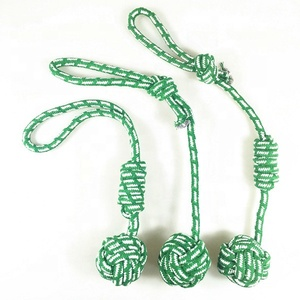Durable Rope Knot 3 PACK Dog Chew Toy Gift Set Fashion New Cheap Interactive Teething Squeaky Bite Puppy Pet Dog Toy