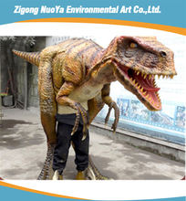 Life size dinosaur costume velociraptor for sale