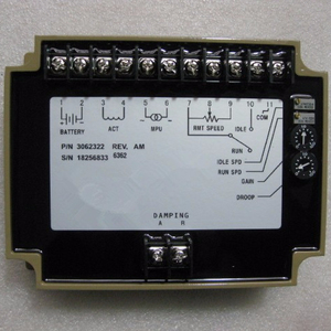 Speed Governor Control Unit 3062322 Price