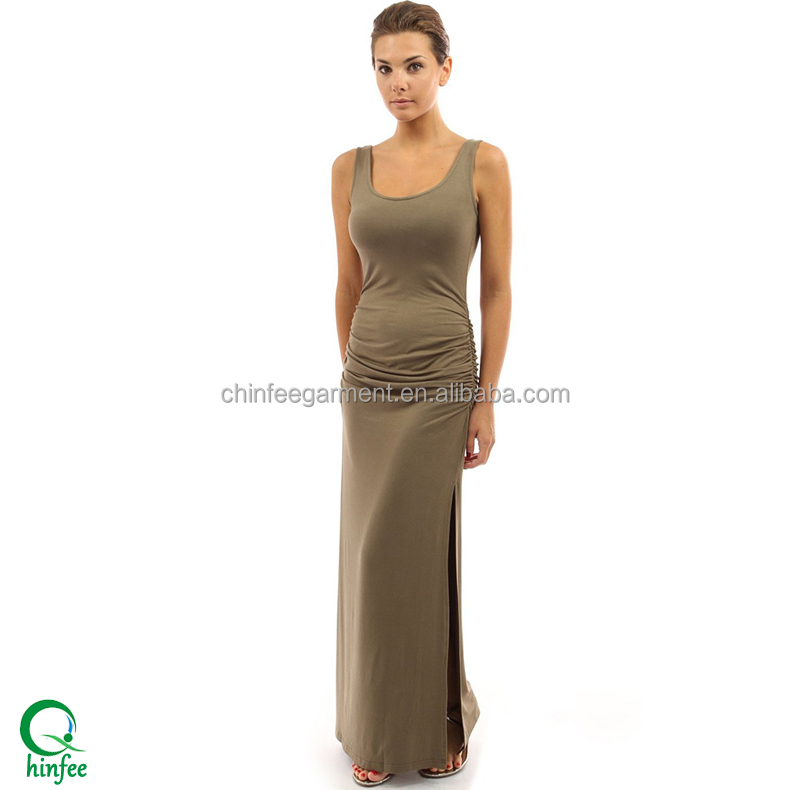 Private Label Dresses Fashion Pencil Maxi Dress 2016 Women Clothing