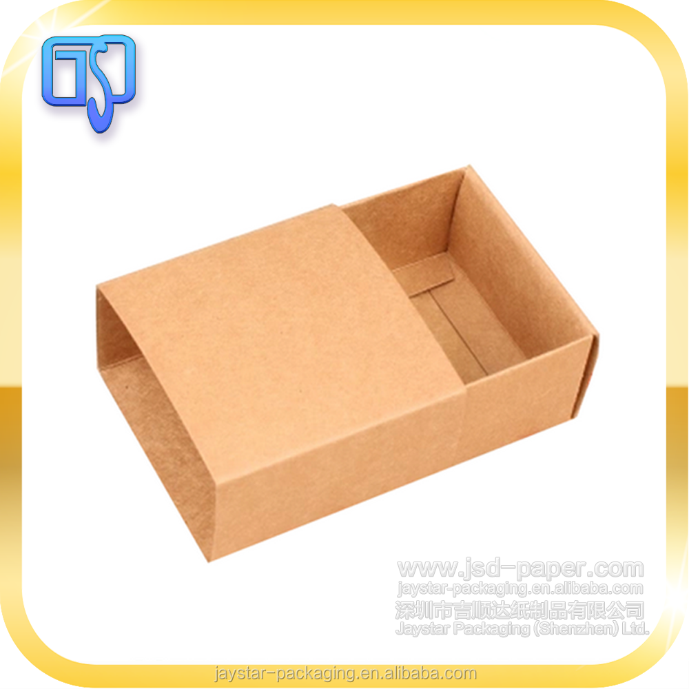 Recylced paper cheap kraft packaging box clothing underwear box