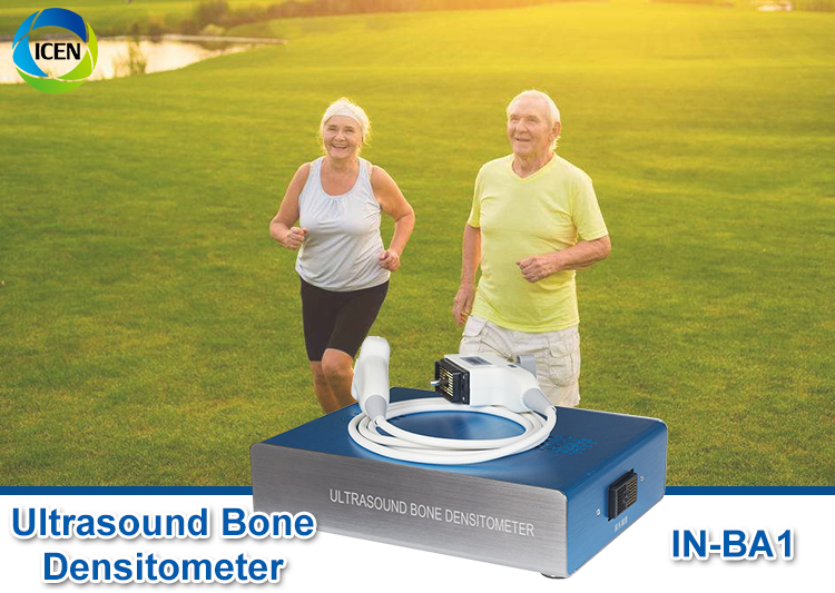 IN-BA1 Ultrasonic Diagnostic Automatic High Effective Portable Ultrasound Bone Densitometer