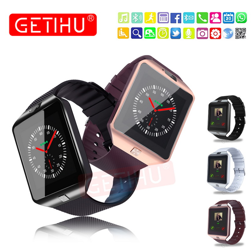 Dropshipping The high quality smart watch 2019 with HD LCD screen dz09 smart watch for mobile phone