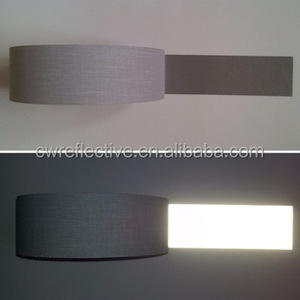 grey tc reflective safety warning tape per roll / reflective strip