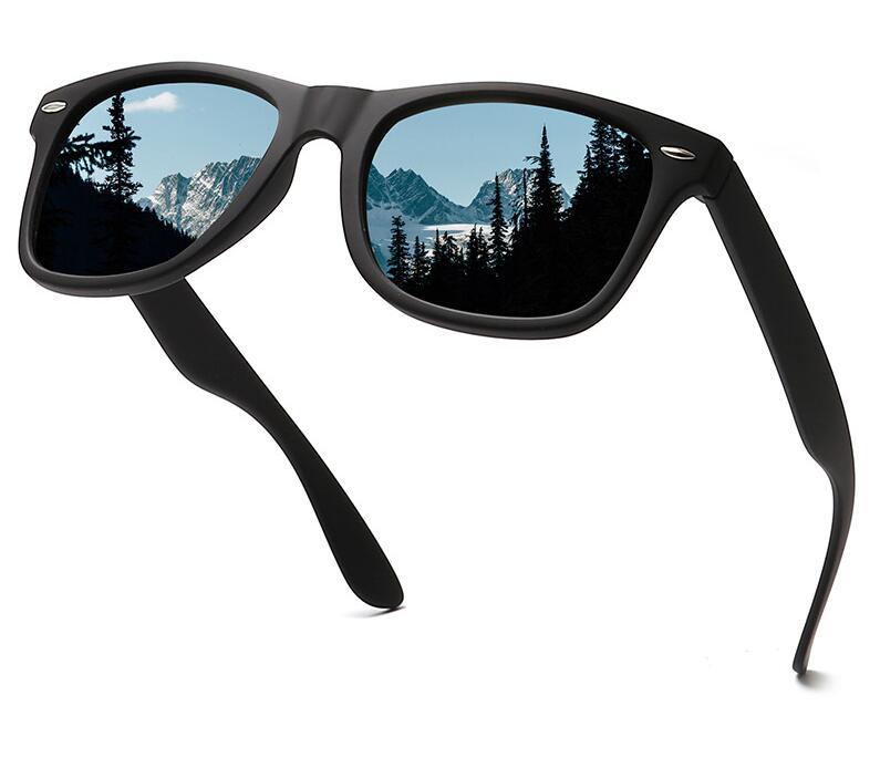 Classic Polarized Sunglasses Men Women Driving Square Frame Sun Glasses Male Goggle UV400 Photochromic Sunglasses