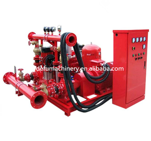 750GPM Diesel Engine Packaged Fire Pump UL Listed Jockey Water Pump