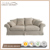 French Style Cover Removable Sofa Antique Furniture Wholesale Fabric Sofa