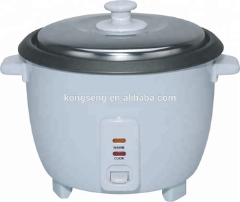Cheap Drum electric rice cooker with NON-STICK 0.6L