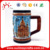 Wholesale custom high quality Turkey Kemer souvenir ceramic cup for sale