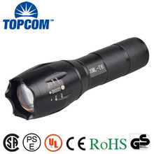 E17 Type 10W Rechargeable Battery High Power Police XML T6 LED Flashlight Torch Tactical For Military , Bike Bicycle ,Camping